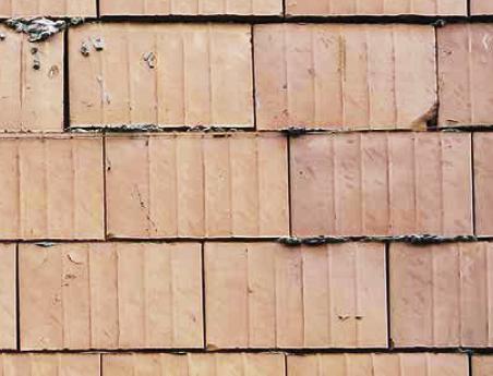 Niewłaściwe przewiązanie elementów murowych; fot.: T. Rybarczyk