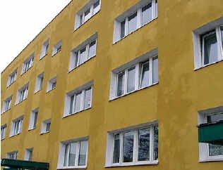 Fot. 3. Sanatorium Marconi w Busku-Zdroju – elewacja pomalowana farbą silikonową