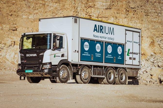 Airium – nowa technologia izolacyjna dla zrównoważonego budownictwa Lafarge