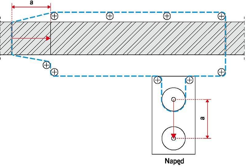 RYS. 3. Schemat sposobu podcinania muru piłami sznurowymi; rys.: [5]