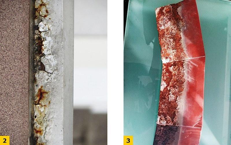 FOT. 2–3. Skutki zastosowania dachowych obróbek blacharskich; fot.: M. Rokiel