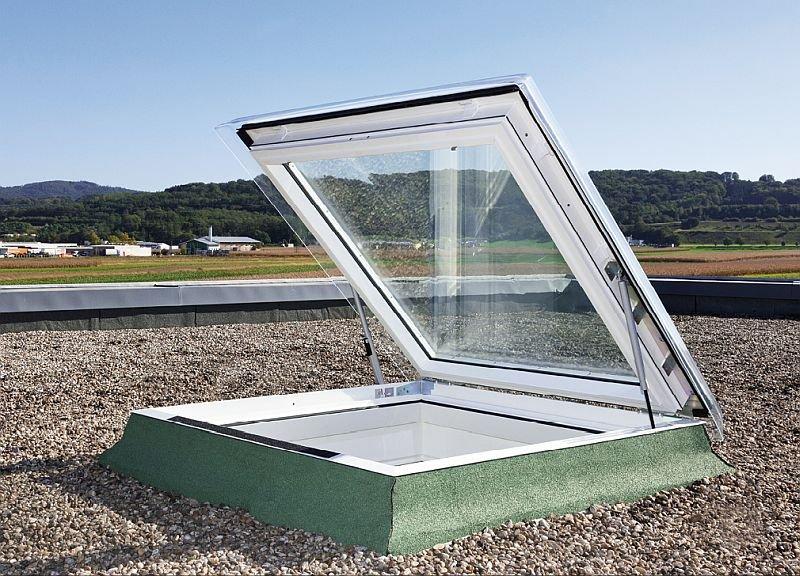 Okno do dachów płaskich VELUX CVP; fot.: Velux