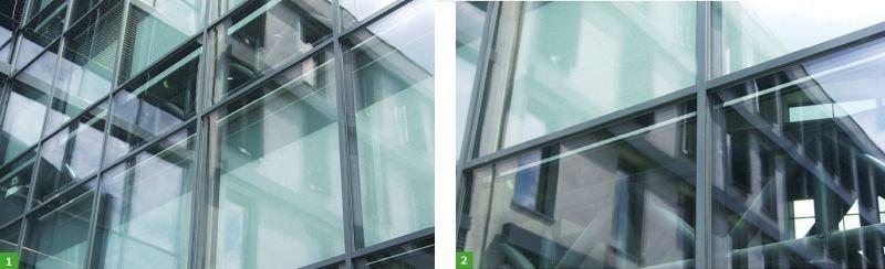 FOT. 1–2. Przykładowa fasada podwójna; fot.: B.Wilk-Słomka, J. Belok