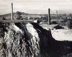 Fot. 1. Zakłady wapiennicze na Kadzielni (1945 r.) [6]