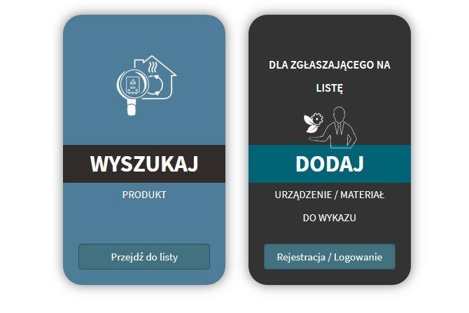Lista zielonych urządzeń i materiałów IOŚ – PIB