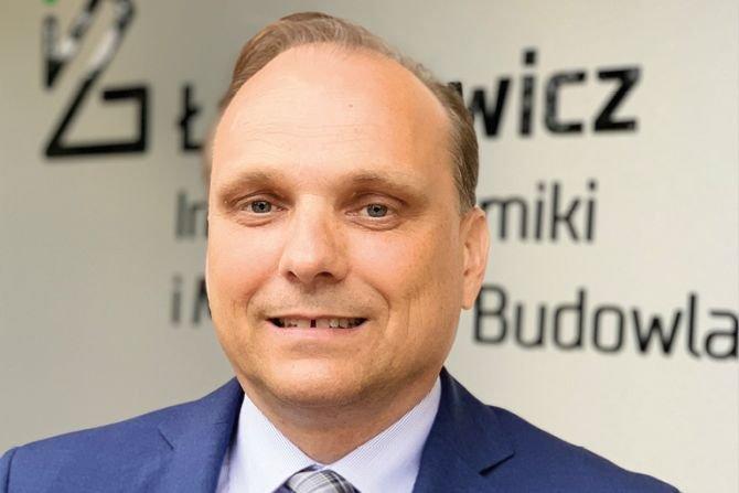 Dr hab. inż. Paweł Pichniarczyk – dyrektor Sieci Badawczej Łukasiewicz – Instytutu Ceramiki i Materiałów Budowlanych Fot. J. Guzal