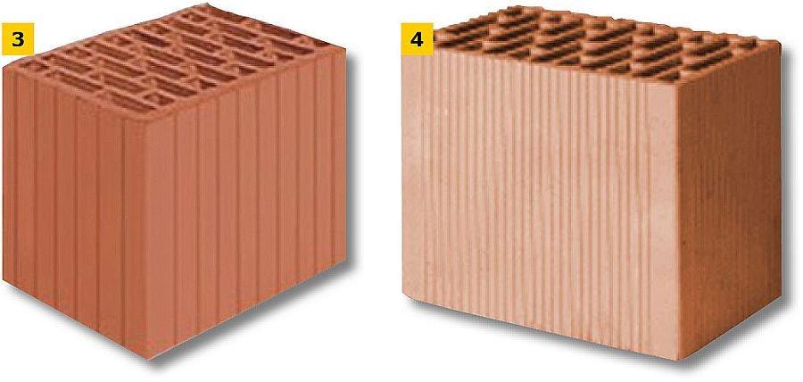 FOT. 3-4. Przykładowe pustaki ceramiczne; fot.: Leier