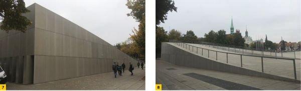 FOT. 7-8. Centrum Dialogu Przełomy w Szczecinie - laureat prestiżowej nagrody European Prize for Urban Public Space 2016; fot. archiwum autora