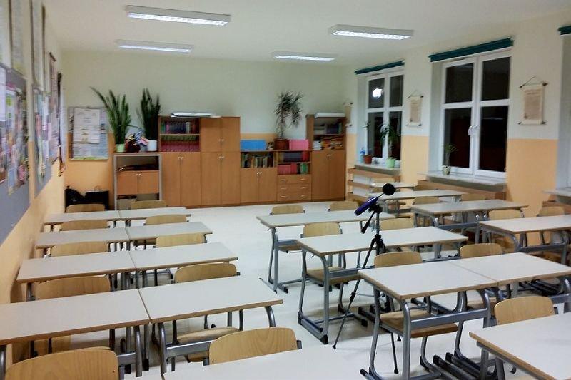 FOT. 1. Typowa klasa szkolna przed modernizacją; fot.: A. K. Kłosak