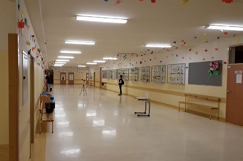 FOT. 10. Typowy korytarz przed modernizacją; fot.: A. K. Kłosak
