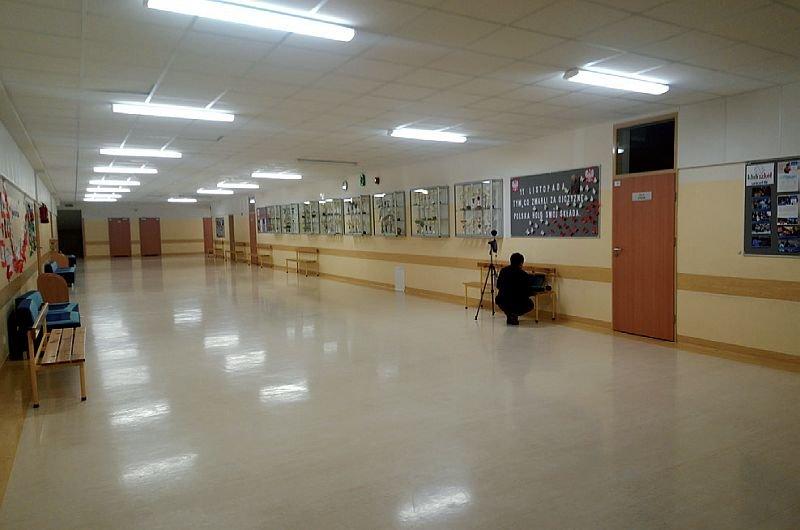 FOT. 11. Typowy korytarz po modernizacji; fot.: A. K. Kłosak