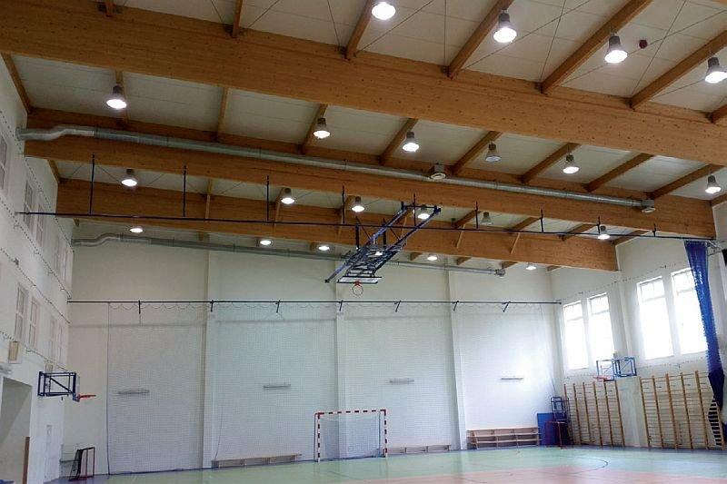 FOT. 7. Sala gimnastyczna przed modernizacją; fot.: A. K. Kłosak