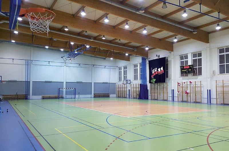 FOT. 9. Sala gimnastyczna po modernizacji (9); fot.: A. K. Kłosak