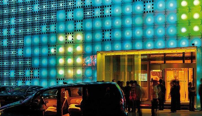 FOT. 11. Fasada multimedialna Greenpix w Pekinie; fot. [17]