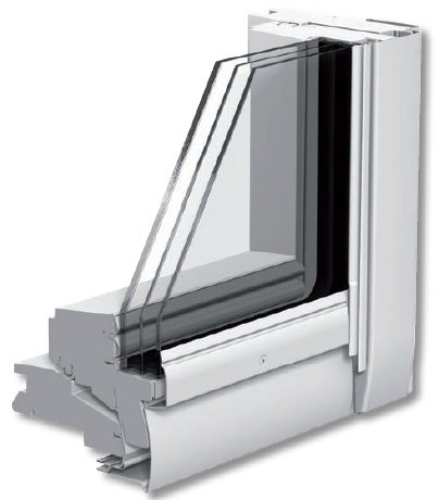 FOT. 3. Pakiet szybowy w nowych oknach VELUX