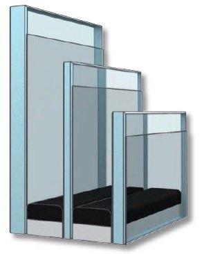 FOT. 5. Szyby w nowych oknach GLL i GLU różnią się od siebie grubością, aby lepiej tłumić dźwięki o różnej częstotliwości