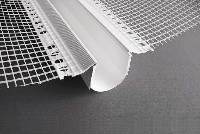 FOT. 3. Profil dylatacyjny tworzywowy z tkaniną szklaną