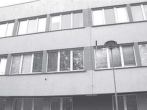 FOT. 1. Fragment elewacji przedmiotowego obiektu biurowego; fot.: [7]