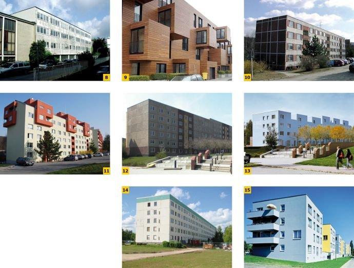 FOT. 8–15. Przykłady europejskiej modernizacji 14 wielkopłytowego budownictwa mieszkalnego;