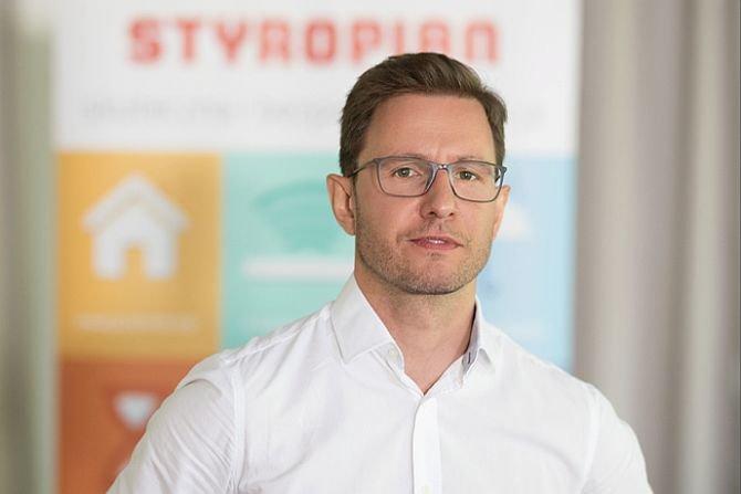 Kamil Kiejna, prezes Polskiego Stowarzyszenia Producentów Styropianu (PSPS) fot. PSPS