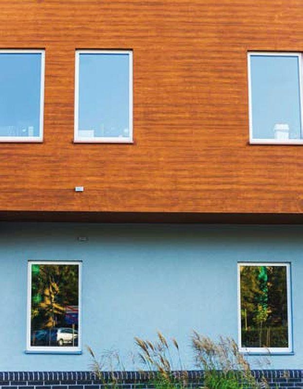FOT. 12. Nowoczesne tynki dekoracyjne nie tylko dają ciekawe efekty wizualne, ale również pozwalają się cieszyć trwałością i odpornością na czynniki atmosferyczne; fot.: Bolix