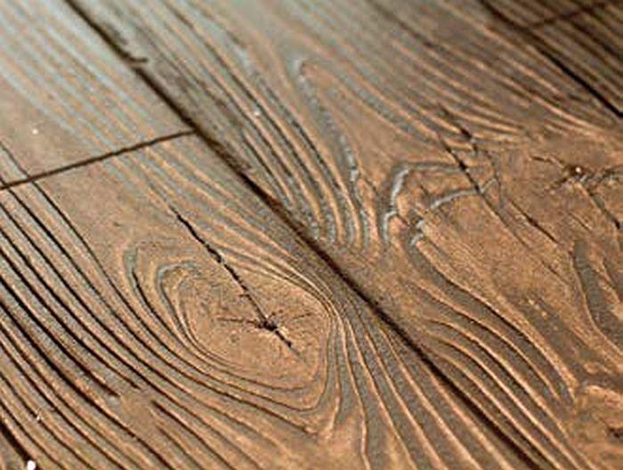 FOT. 7.  Innowacyjna wyprawa zewnętrzna: efekt drewna (deski); fot.: Stowarzyszenie na Rzecz Systemów Ociepleń