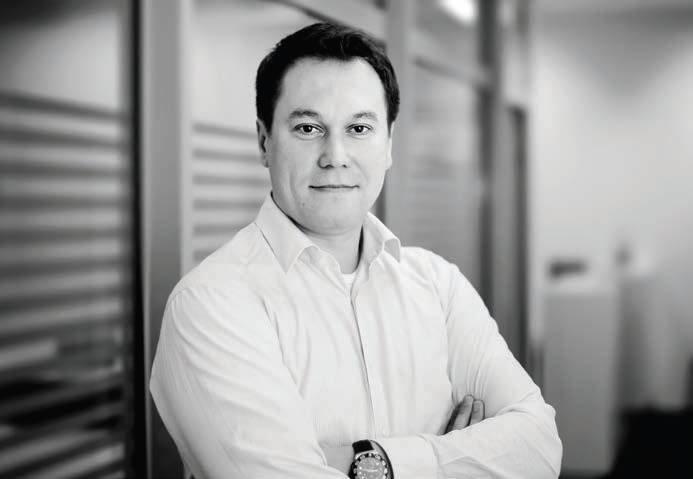 Filip Barański - prezes zarządu firmy KFB Polska Sp. z o.o.