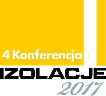 """Logo 4. Konferencji IZOLACJE 2017 """"Modernizacja starego budownictwa w Polsce"""""""