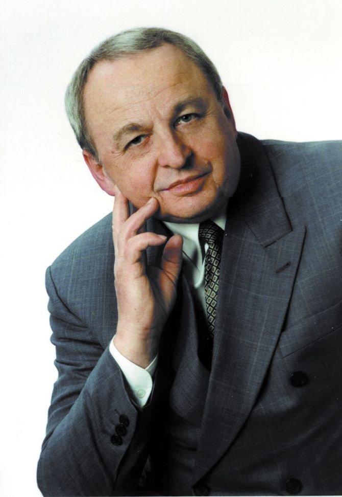 Prof. dr hab. inż. Jan Misiak - prezydent Wyższej Szkoły Ekologii i Zarządzania