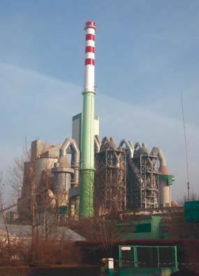 Fot. 1–2. Cementownia ze stanowiskiem do spalania opon