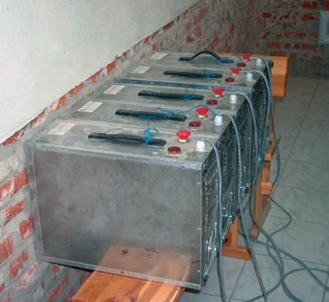 Fot. 1. Obniżanie poziomu zawilgocenia strefy iniekcji generatorami mikrofalowymi