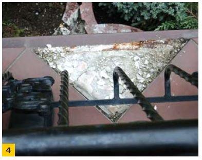 FOT. 4. Główną przyczyną uszkodzeń jest niewłaściwe zastosowanie obróbki blacharskiej okapu