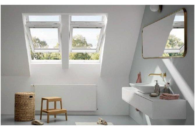 FOT. 1. Wszystkie okna dachowe VELUX dostępne są z trzyszybowymi pakietami