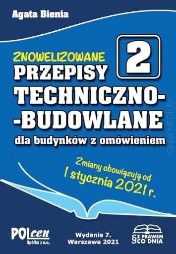 przepisy techniczno budowlane 2021