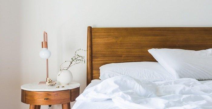 Wnętrze sypialni, fot. homebook