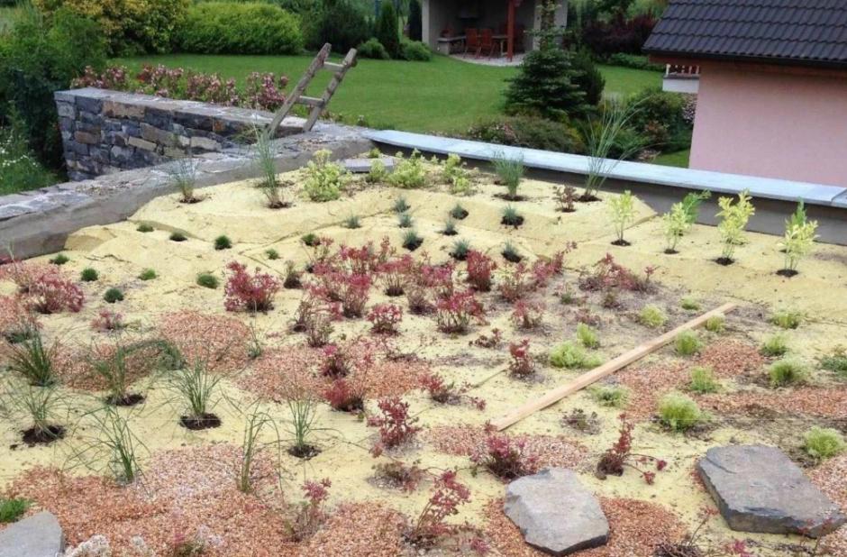 zielony dach mata retencyjno drenazowa sopraflor rpe