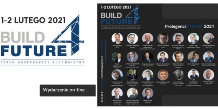 """""""SIPUR"""" był jednym ze sponsorów Forum Gospodarczego Budownictwa Build4Future, fot. SIPUR"""