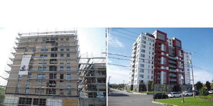 Przykłady wielorodzinnego budownictwa drewnianego, fot. P. Sulik